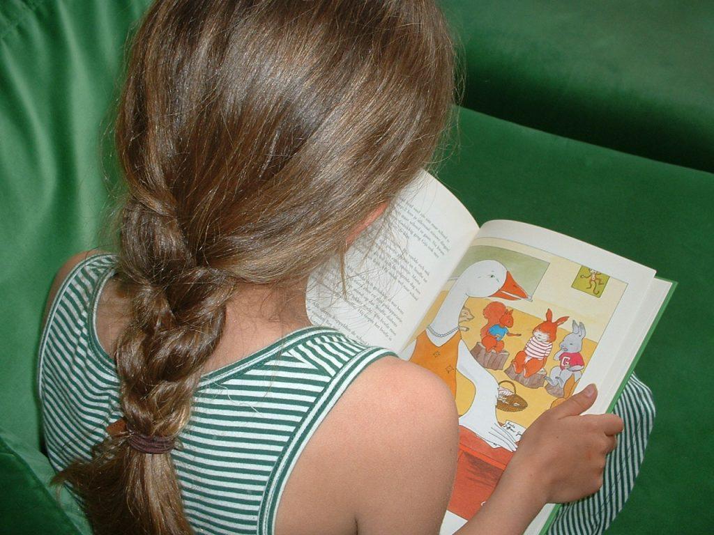 Boeken over ziektes kunnen helpen